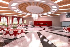 دیزاین ورودی تالار عروسی